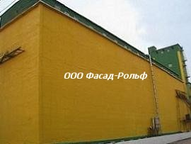 Ремонт фасада здания в москве