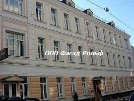 Окраска фасадов домов