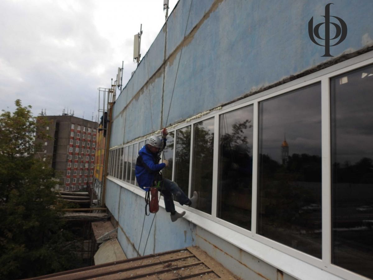 Отделка и ремонт фасада