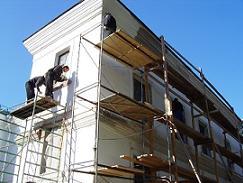 Ремонт трещин на фасаде