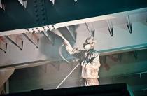 Покраска мостового крана в цеху