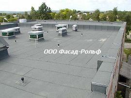 Ремонт мягких крыш