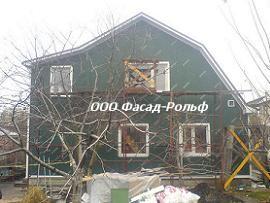 Отделка фасада сайдингом фото
