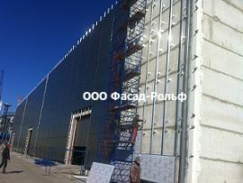 Капитальный ремонт фасада здания